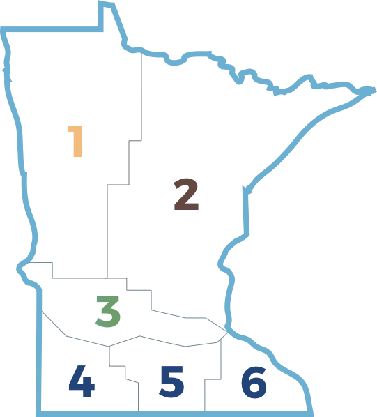 Minnesota Region Map